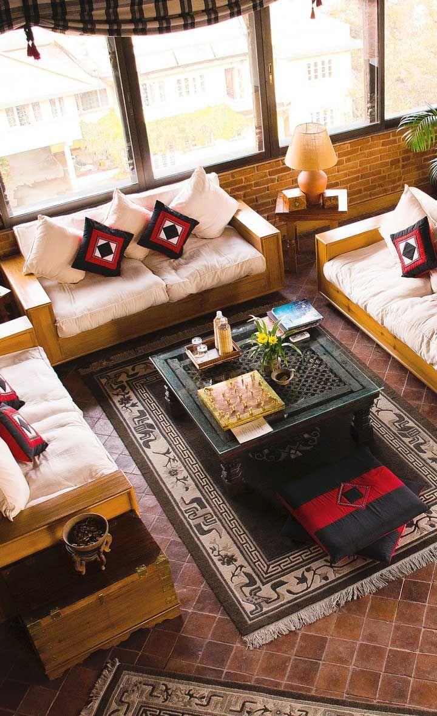 Kathmandu Interior Design Of Living Room In Nepal Hotel Room Design Plan Hotel Room Design Interior Design Sites