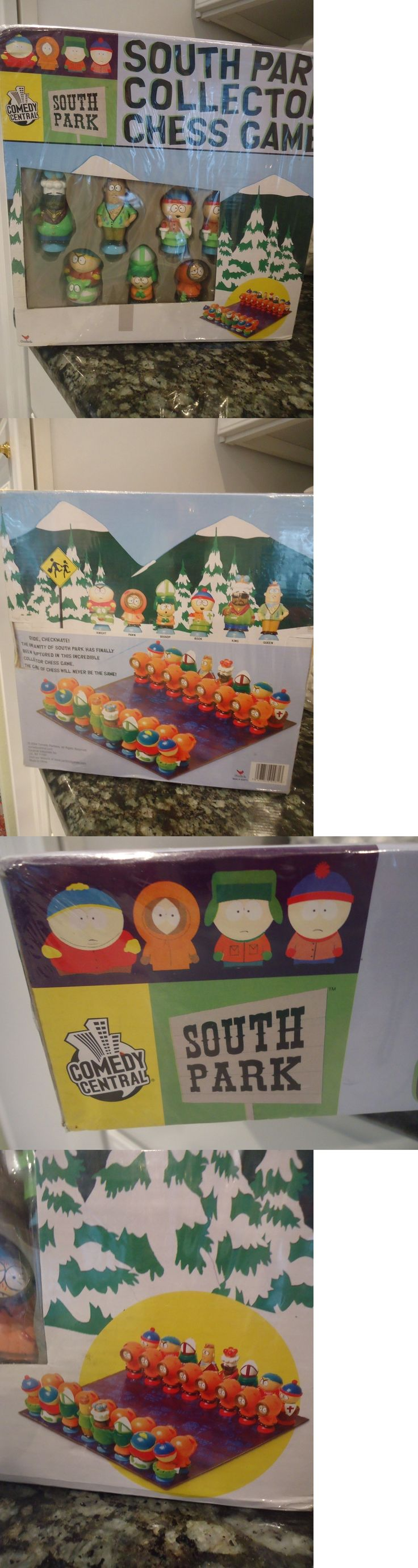 Contemporary Chess 40856: New Comedy Central South Park Collector Chess Game -> BUY IT NOW ONLY: $40 on eBay!