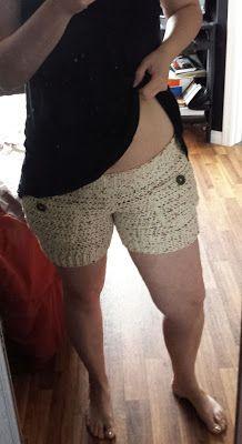 365 Crochet!: Comfy Cotton Shorts -free crochet pattern-
