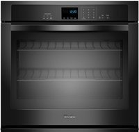 "Whirlpool 27"" Black Single Electric Wall Oven"