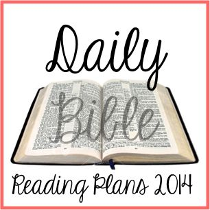 Daily Bible Reading Plan 2014