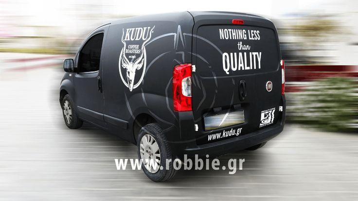 KUDU / Σήμανση οχημάτων // #Car_Wrapping #Αυτοκόλλητα_Vector #Ολική_Κάλυψη #Στόλοι_Εταιρειών #robbieadv #robbie_adinandout