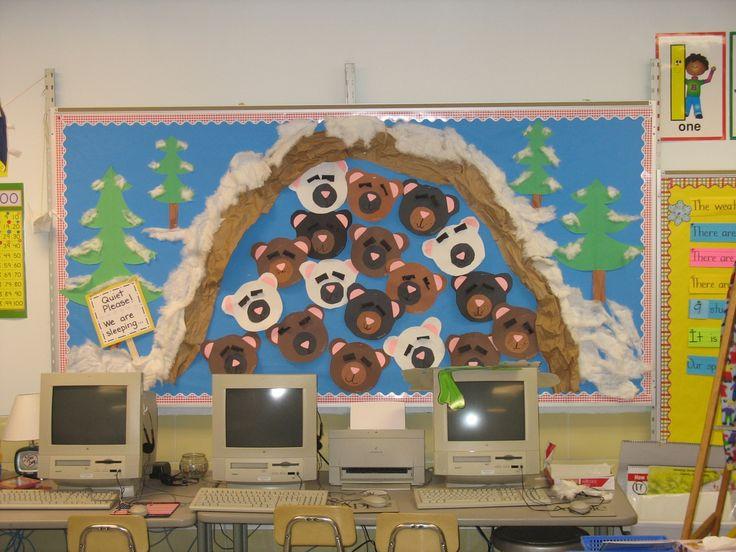 Winter Bulletin Board Ideas Preschool