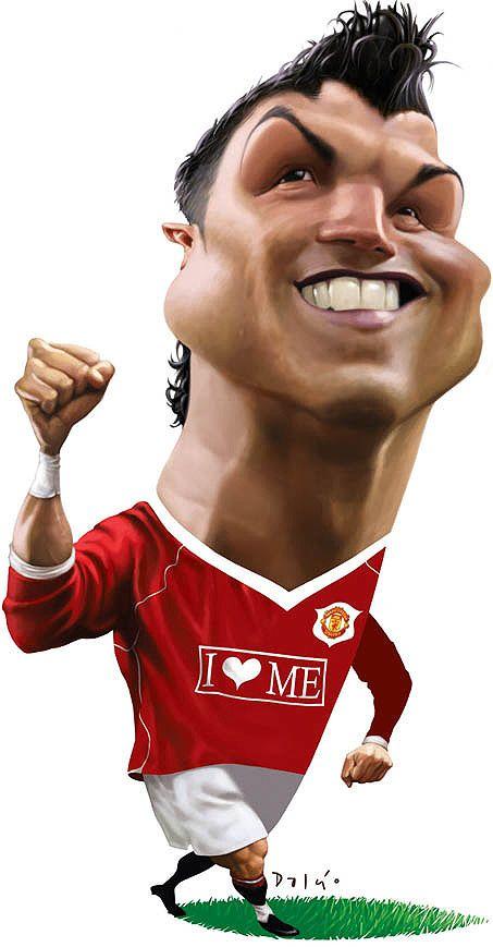 Ronaldo caricatura