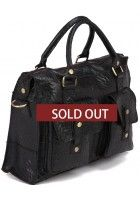 LeVan -- Genuine Cowhide Leather Messenger Bag $89.99