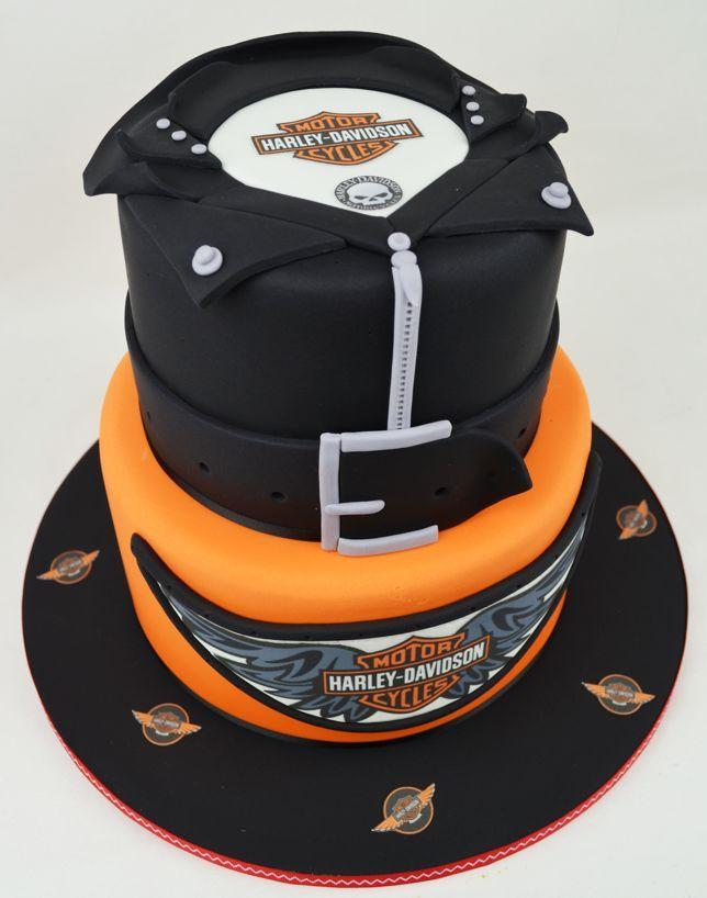 Harley Davidson Cake Images