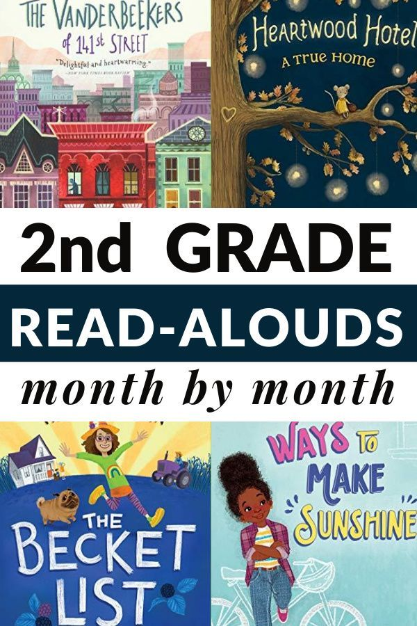 Chapter Book Read-Alouds for 2nd Grade in 2020 | Chapter ...