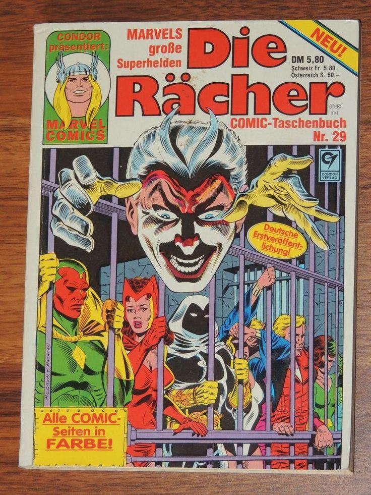 Marvel Comic Taschenbuch #29 Die Rächer (Condor Verlag)