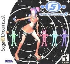 New Factory Sealed Space Channel 5 - Dreamcast Game