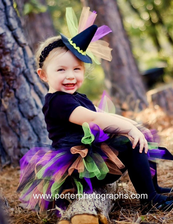 witch costume tutu for baby girls infant halloween set with mini witch hat choose - Baby Witch Costumes Halloween