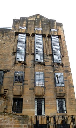 U.K. Scotland. Glasgow School of Art, Glasgow, 1899 // architect: Charles Rennie Mackintosh