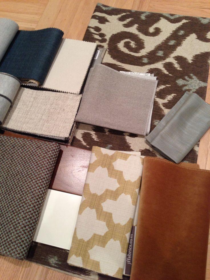 Corey Klassen Interior Design Material Scheme For BuenaVista International Award Winning Vancouver