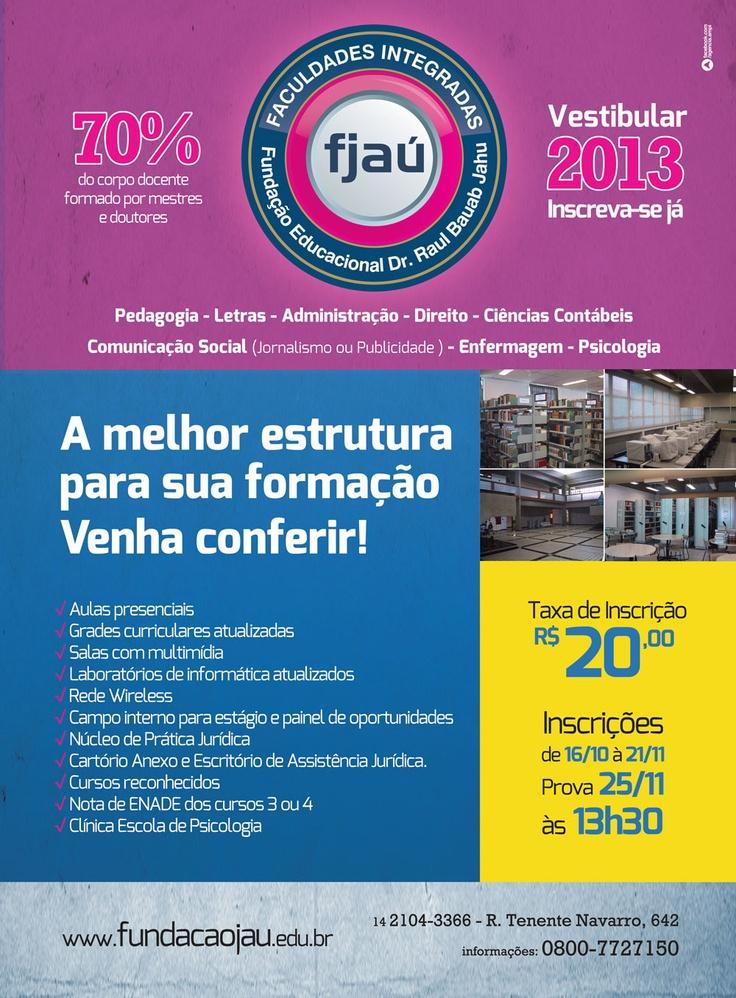 Vestibular 2013