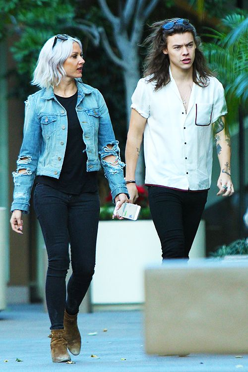 Louise Teasdale and Harry Styles