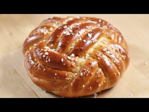 Winston Brot | Knoten aus Hefeteig flechten - YouTube
