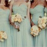 mint wedding colors, vintage wedding