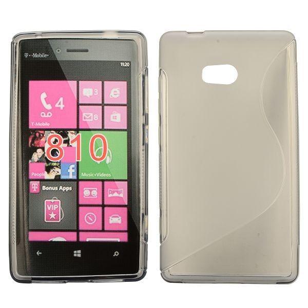 S-Line Transparent (Hvid) Nokia Lumia 810 Cover