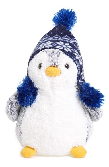 Aurora World Toys 'Pom Pom Penguin' Stuffed Animal