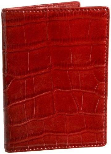 La Diva Croc-Embossed Passport Cover: