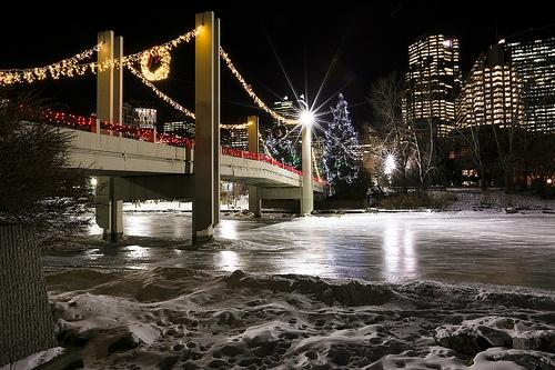 Princes Island Bridge Lights