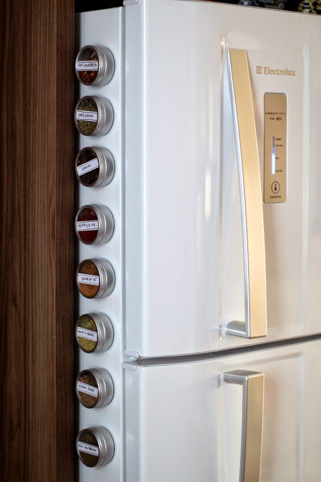 Veja como fazer esse porta temperos magnético para deixar a cozinha muito mais prática e charmosa!