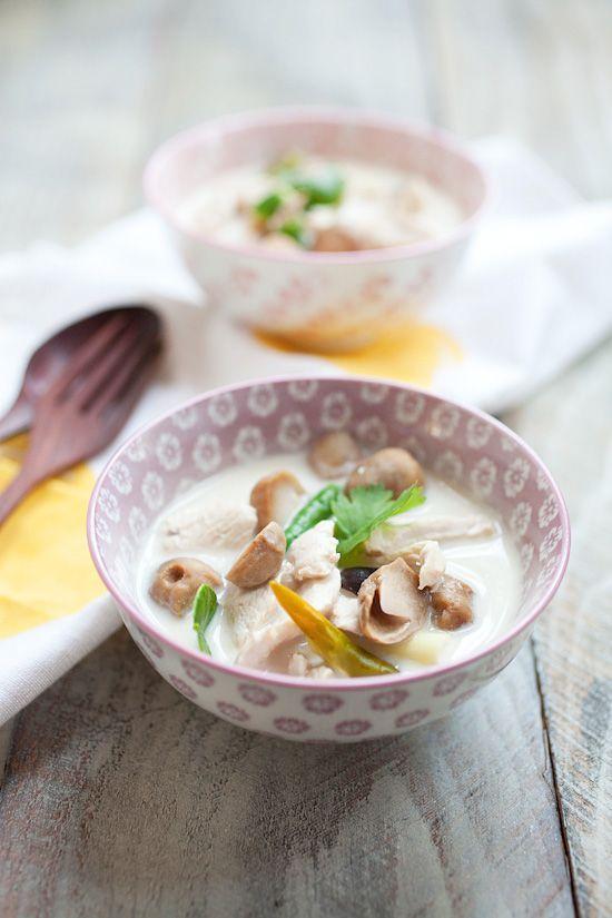 ココナッツチキンスープ「トムカーガイ」のレシピ。本場の味をおうちで♩ - macaroni