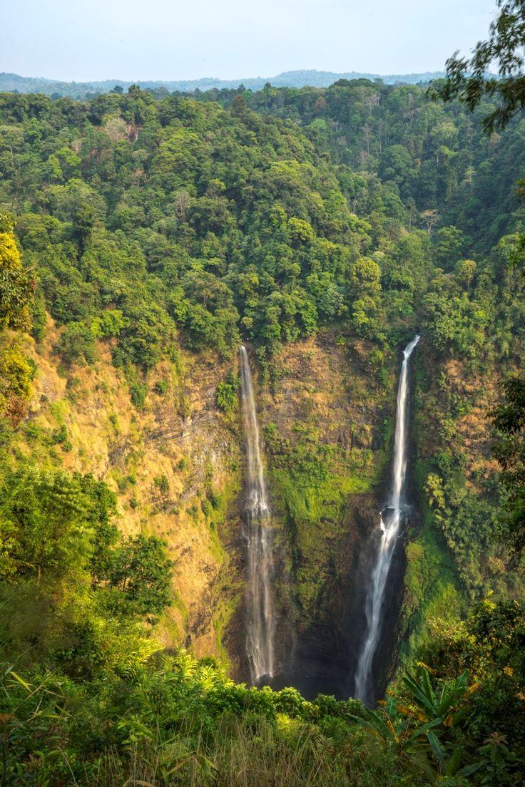 The Khone falls and Pha Pheng falls, Laos