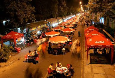 Galabo, the culinary tourism at night in Solo city