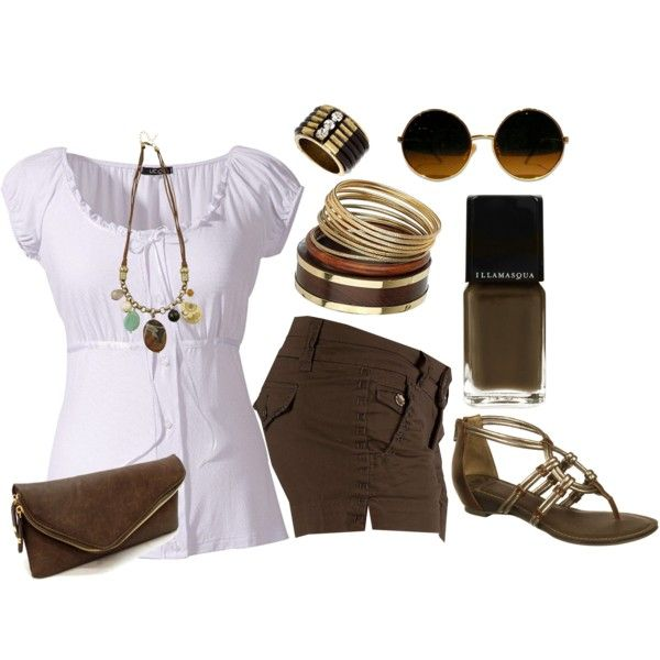 Cute: Fashion, Brown Nails, Brown Nail Polish, Outfits Spring, Brown Ol Feelings, Outfits Brown
