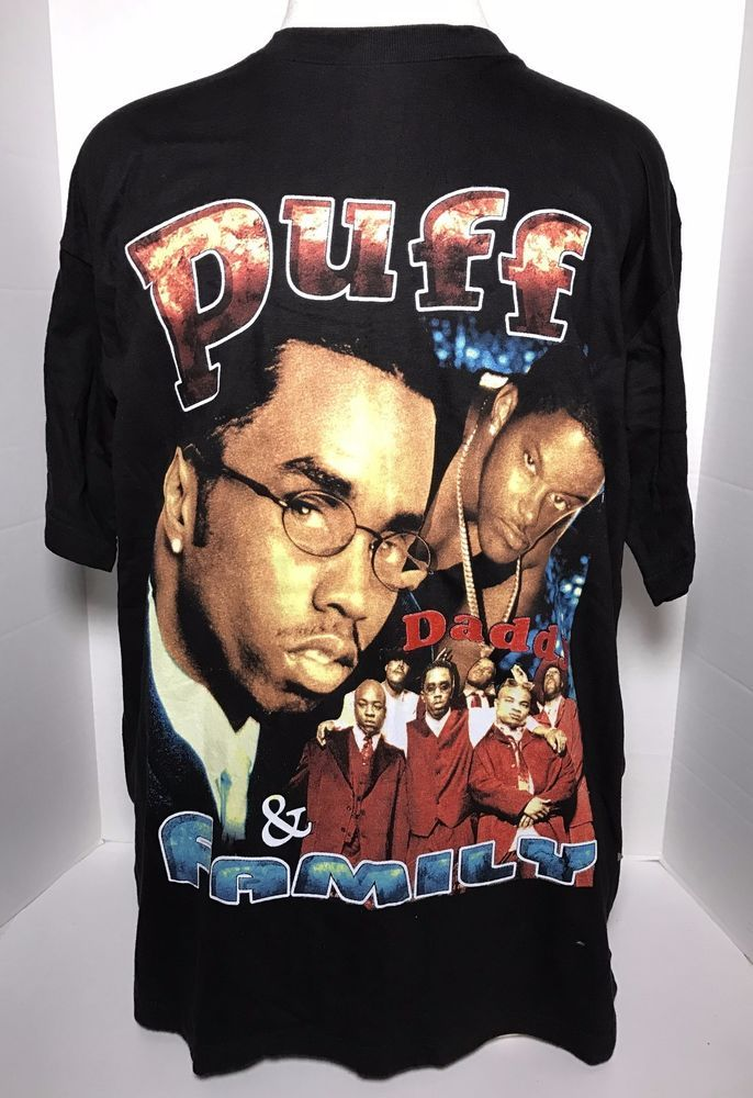 Vintage Puff Daddy and Family T-shirt XXL Concert Music Rap Biggie Notorious  #BayClub #GraphicTee