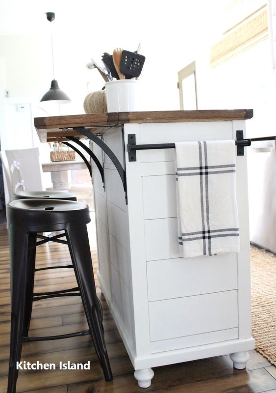 DIY Guide For Making A Kitchen Island 1 in 2018 Costal cool