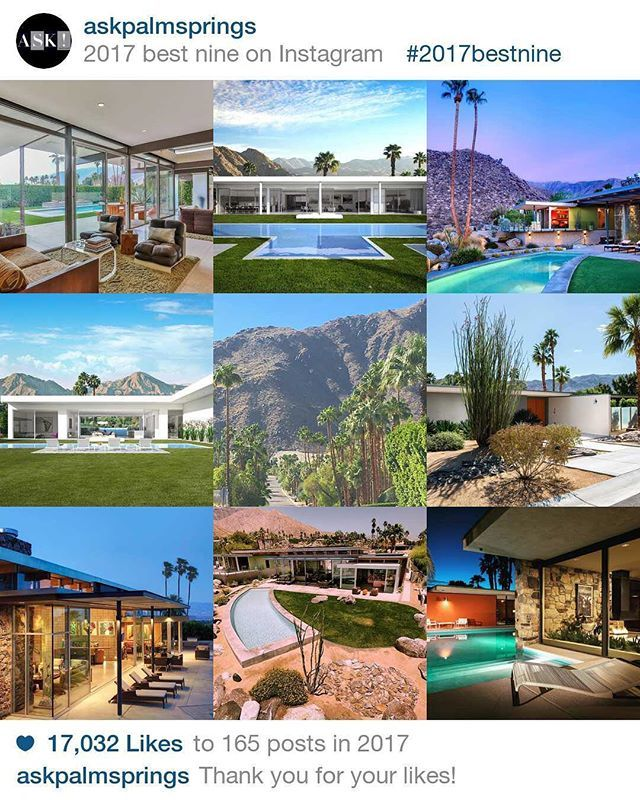 Wishing you all a fantastic New Year! Thanks for your support and likes! If a Palm Springs move is in your 2018, remember to just ASK! 🌴 🌞 🌳 #palmsprings #ranchomirage #realestate #realestateagent #luxuryhomes #luxuryrealestate #mcm #midmod #midcentury #hklane #christies #christieshomes #askpalmsprings #2017bestnine - posted by ASK Palm Springs https://www.instagram.com/askpalmsprings - See more Luxury Real Estate photos from Local Realtors at https://LocalRealtors.com/stream
