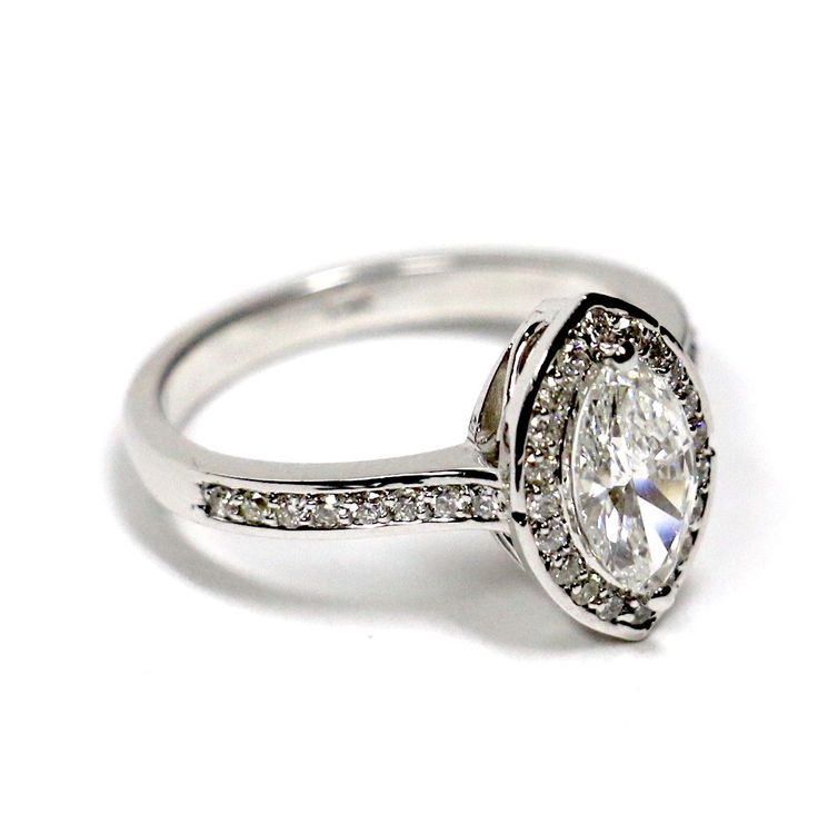 Unique and stunning, this marquise diamond will literally take your breath away.