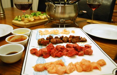 Fondue broth recipe. Just like the Melting Pot! #maincourse #recipes #dinner #snack #recipe