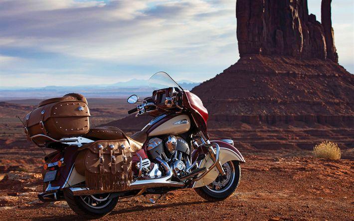 Lataa kuva Indian Roadmaster Klassinen, 2018 polkupyörää, desert, superbike, touring, amerikkalainen moottoripyörien