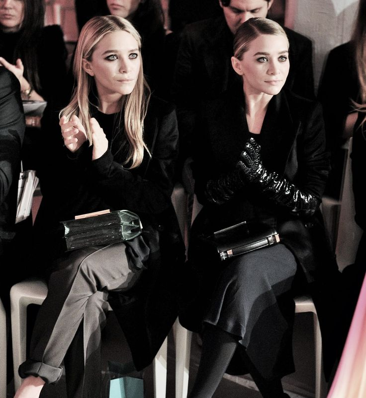 I literally can't believe I'm pinning the Olsen Twins but...I like their outfits, so there!