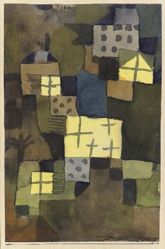 Paul Klee, M. D. Gelben Fenstern