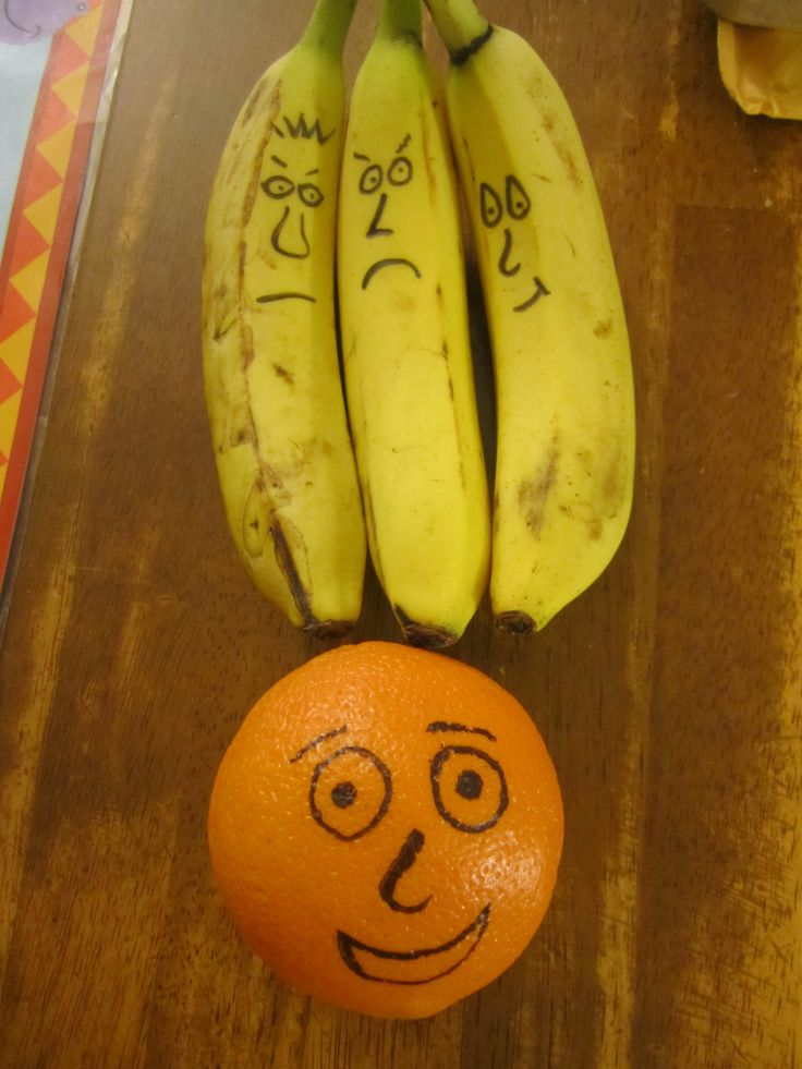Use bananas and an orange to introduce the lesson of the Good Samaritan.  While bri…