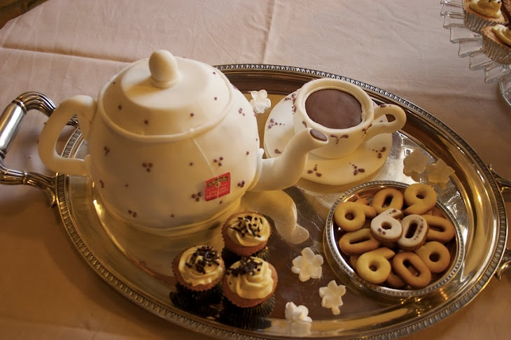 Teapot cake - torta teiera