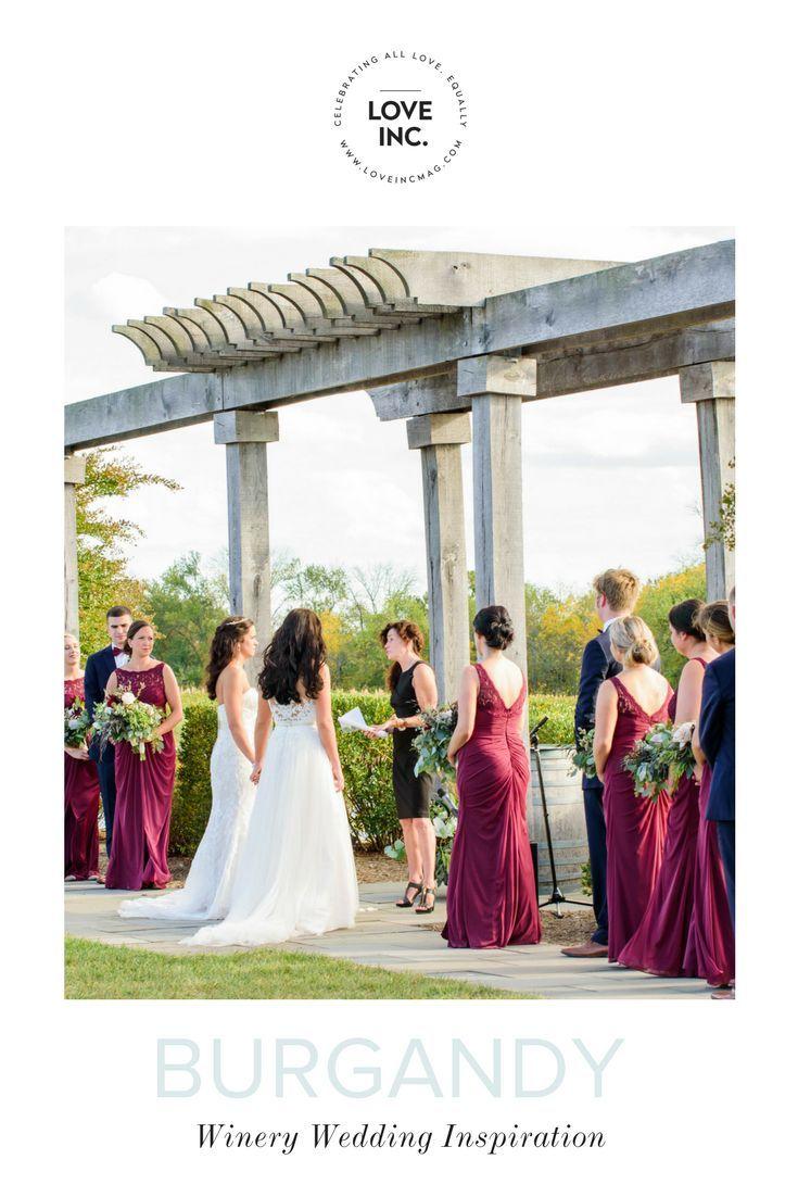 BURGANDY WEDDING IDEAS    Wedding, Wedding Inspiration, Wedding Magazine, Same-sex wedding, LGBT wedding, LGBTQ wedding, equality-minded wedding, gay wedding, inclusive weddings, Family, Lifestyle, Baby, Beauty, and More...