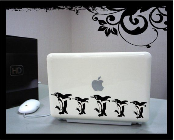 March of the Penguins  Vinyl Decal by BubbaAndDoodle on Etsy, $7.00