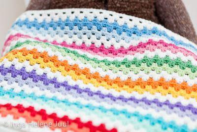 Patrones gratis de mantas para bebes bichus amigurumis - Manta de bebe a ganchillo ...
