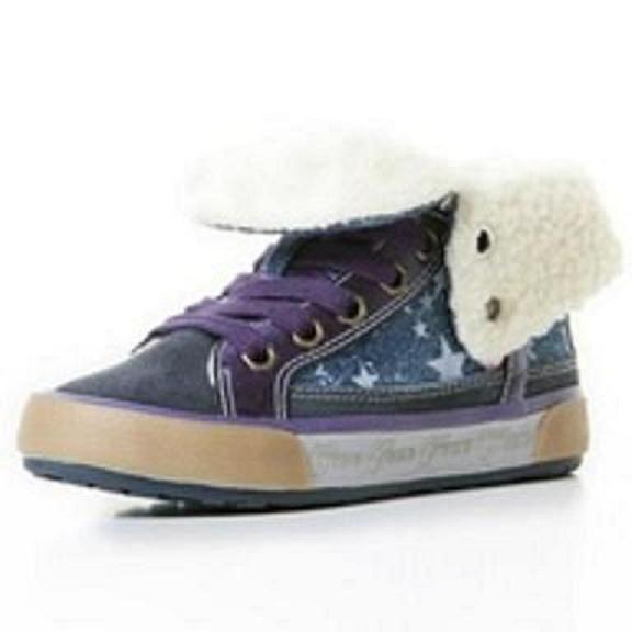 dívčí zimní boty Geox