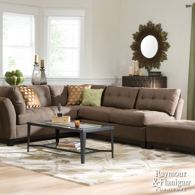 Metropolis Collection | You'll love relaxing on this collection's soft microfiber fabric, and the deep-seated cushions conform to your body for extraordinary comfort.