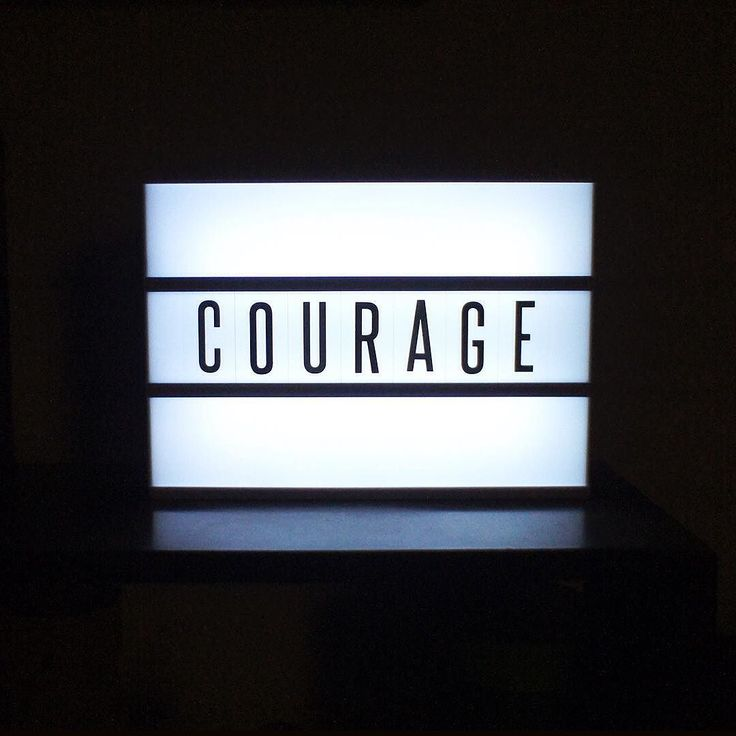 """Day 14 - Courage. """"Courage is not something that you already have that makes you brave when the tough times start. Courage is what you earn when you've been through tough times and you discover they aren't so tough after all."""" From Malcolm Gladwell's David & Goliath."""