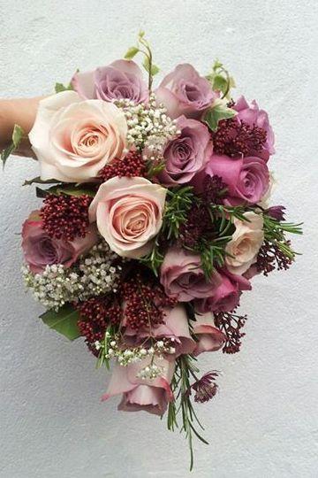 Ramos de novia con flores otoñales                                                                                                                                                                                 Más