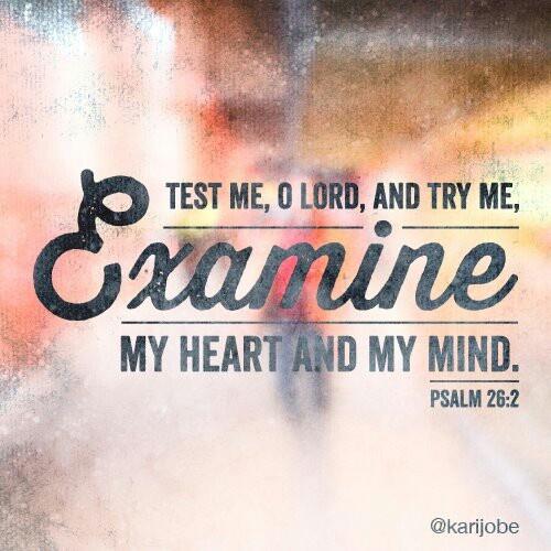 Psalm 26:2, marathon inspiration. #love