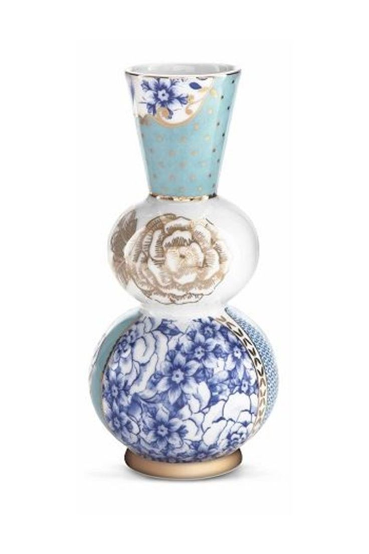 Picture of Royal vase round blue