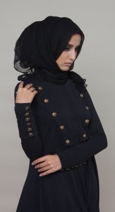 Charreteras Abaya #AabCollection #WhatsNew #NewArrivals #Military