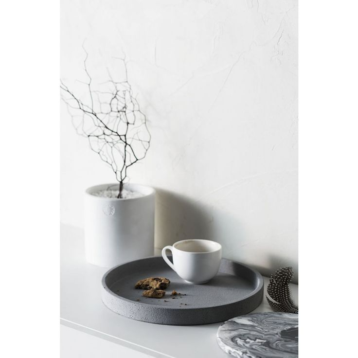 Designstuff offers a range of Scandinavian designed home decor including this beautiful and versatile concrete tray by Zakkia.